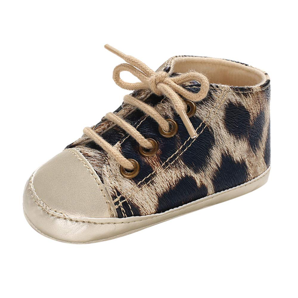 Gooldu Infant Newborn Boots Mixed Colors Baby Girls Boys Leopard Print Winter Boots Prewalker Warm Shoes
