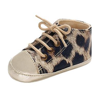 7deb2d7c54cd7 Bottes De Neige Enfant Sneakers Fille Garcon Chaussures Premiers Pas de Imprimé  léopard Walking Shoes Tonsi