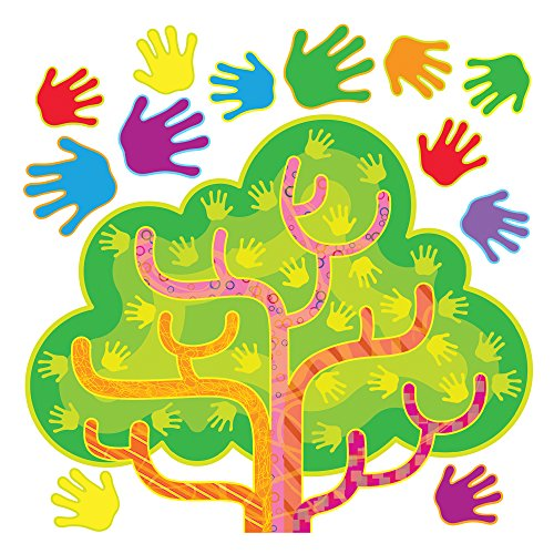 TREND enterprises, Inc. Hands in Harmony Learning Tree Bulletin Board Set