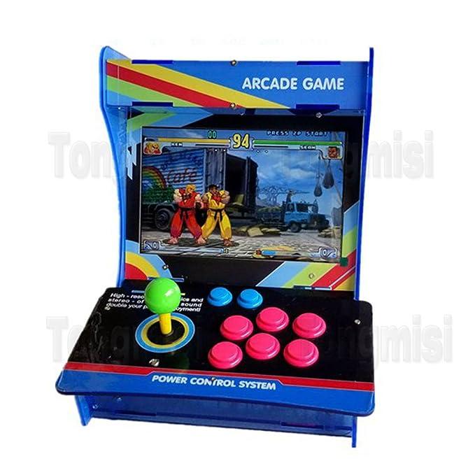 Amazon.com: tongmisi Arcade Fighting máquina de juego Mini ...