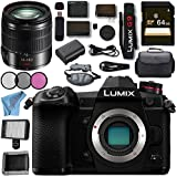 Panasonic Lumix DC- G9 DC-G9KBODY Mirrorless Micro Four Thirds Digital Camera Lumix G Vario 14-140mm f/3.5-5.6 ASPH. POWER O.I.S. Lens (Black) Bundle