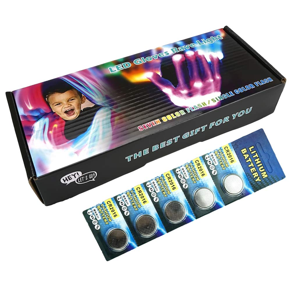 Guantes LED Intermitentes para ni/ños Dreamingbox