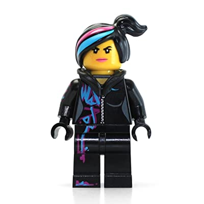 LEGO The Movie Minifigure: Wyldstyle with Hoodie Down: Toys & Games