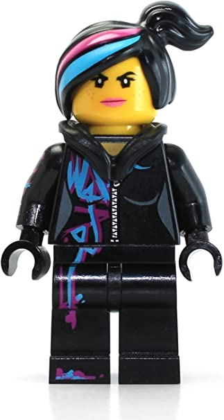 Amazon Com Lego The Movie Minifigure Wyldstyle With Hoodie Down Toys Games