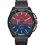 Diesel Men's DZ4395 Heavyweight Black Ip Watch