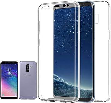 Planetmovil Compatible con Samsung GALAXY A6 PLUS: Amazon.es ...