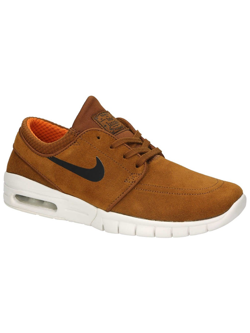 size 40 e8e01 be6c6 Galleon - NIKE SB Stefan Janoski Max L Mens Trainers 685299 Sneakers Shoes  (US 7.5, Hazel Nut Black Ivory 201)