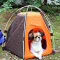 RuiXiang 1pcs Outdoor Pet Tent, Small Pet Tent Assembly, Dog Cat Camping Tent, Portable Waterproof Pet House Tent,Indoor and Outdoor Dog Cat House from RuiXiang