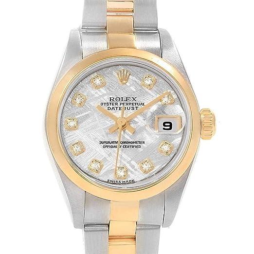 Rolex Datejust 79173 - Reloj de Pulsera Hembra automático, autoviento: Rolex: Amazon.es: Relojes