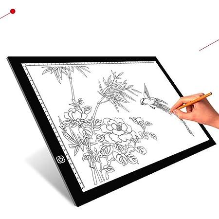 Copy Board Mesa de Luz Dibujo,A3 LED Mesas de Dibujo Light Pad ...