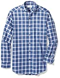 Buttoned Down Mens Classic Fit Cutaway-Collar Sport Shirt