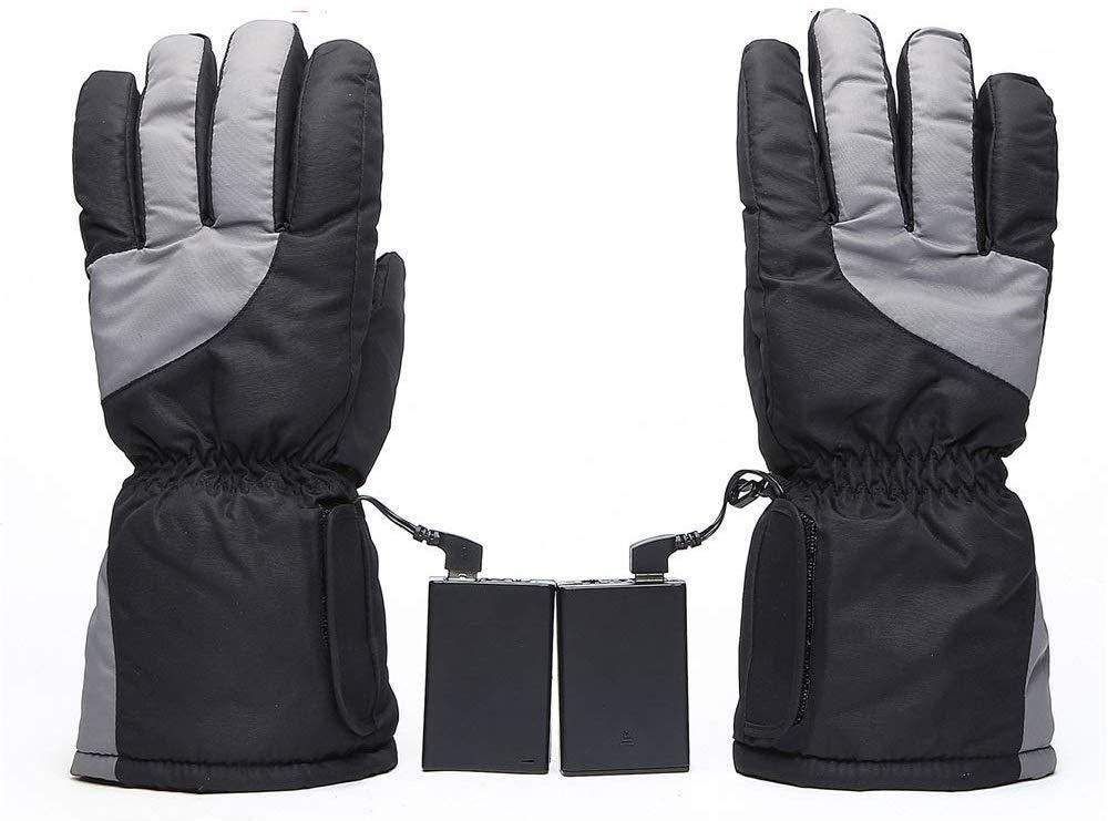 DYCLE Beheizte Handschuhe Winter Warme Handschuhe Wiederaufladbare Elektrische Batterie Beheizte Handschuhe Männer Frauen Outdoor Wandern Skifahren Camping Radfahren Motorradfahren