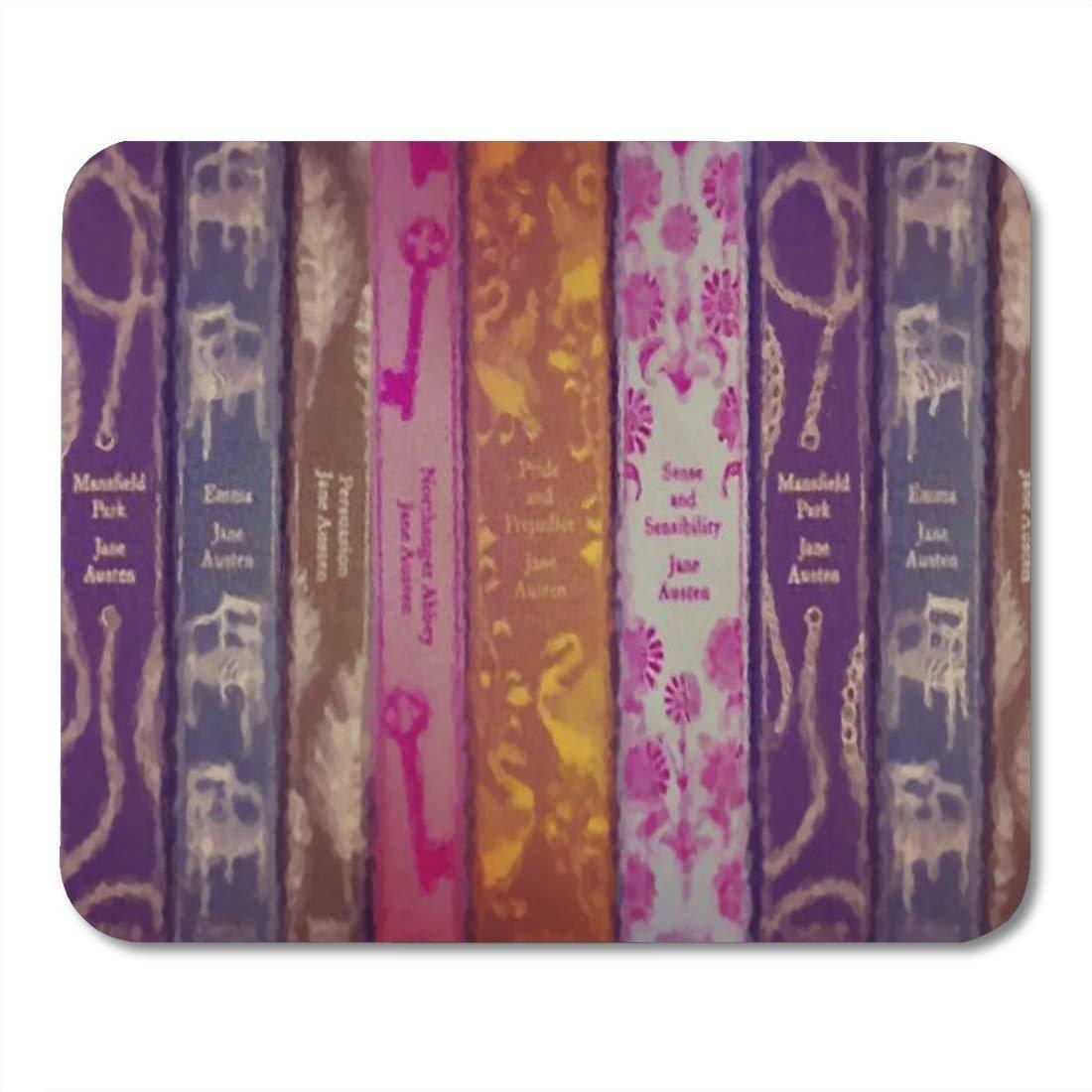 Yanteng Almohadillas para Mouse Autor Jane Austen Libros ...