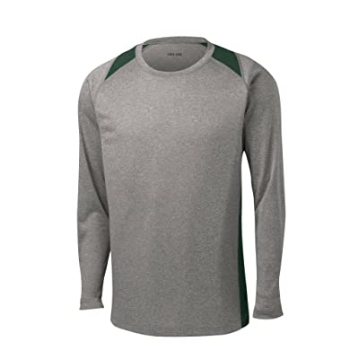 Joe's USA Long Sleeve Moisture Wicking Athletic Shirts in Regular, Big and Tall at Men's Clothing store