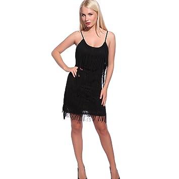 Disfraces con vestido negro para mujer