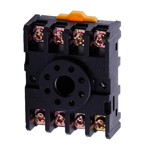 c61 F de GP AC 220 V 50/60 Hz 8 Pin Bomba de líquido flotador Bomba de nivelación inalámbrica Interruptor Automático con Socket: Amazon.es: Hogar