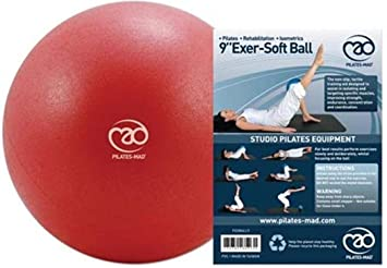 Fitness Mad Exer-Soft Exercise Yoga Fitness Gym Floor Ball /&Pilates Home Workout