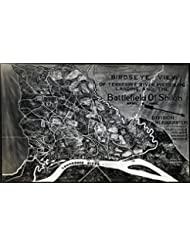 Battle of Shiloh - Civil War Panoramic Map (24x36 Giclee Gallery Print, Wall Decor Travel Poster)