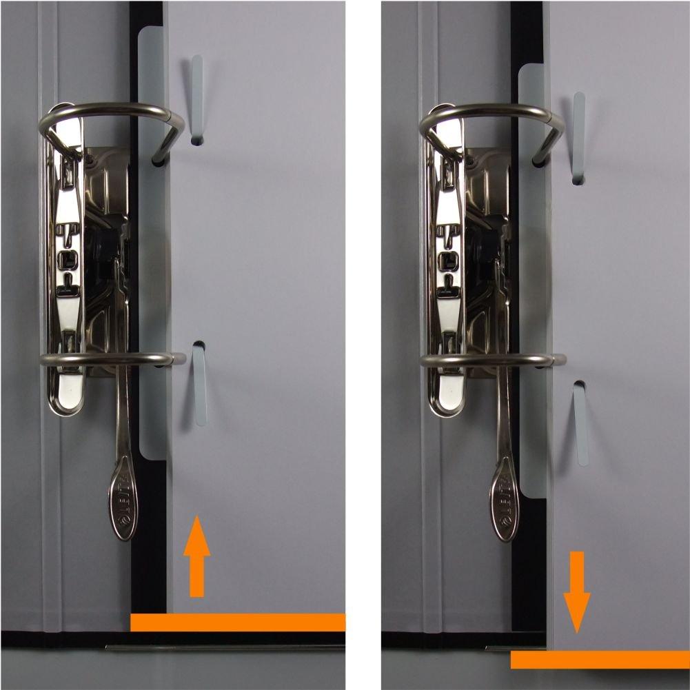 Heftstreifen für 500 blatt  50 stabix - der Heftstreifen aus Metall bzw. Stahlblech - in weiß ...