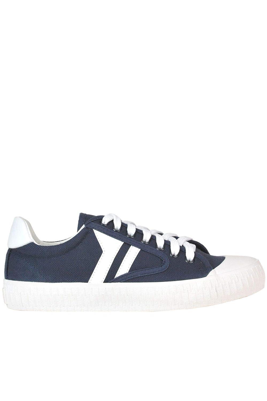 - Céline Women's MCGLCAK000005043E bluee Fabric Sneakers