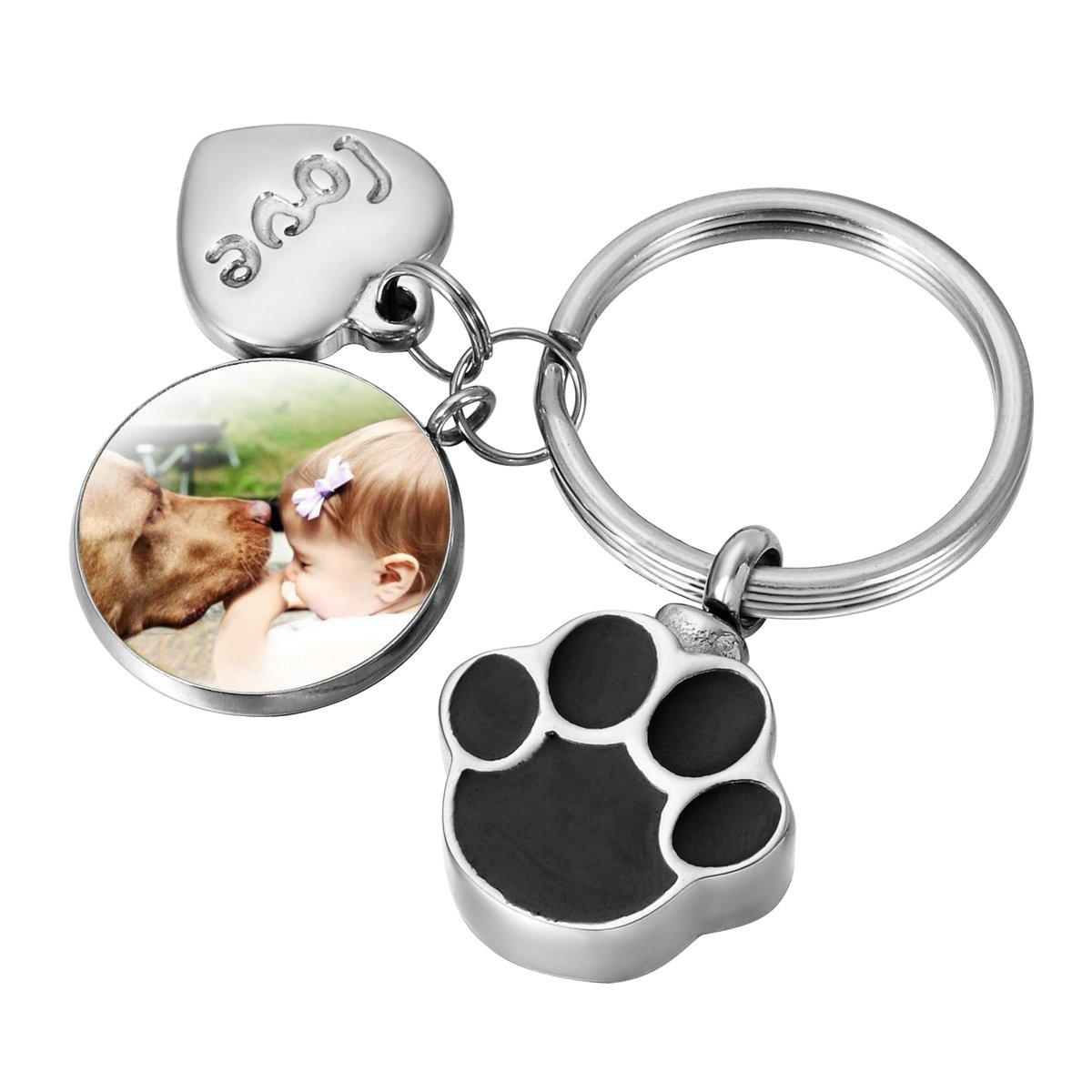Portafotos Housweety Memorial personalizable Mascota canina ...