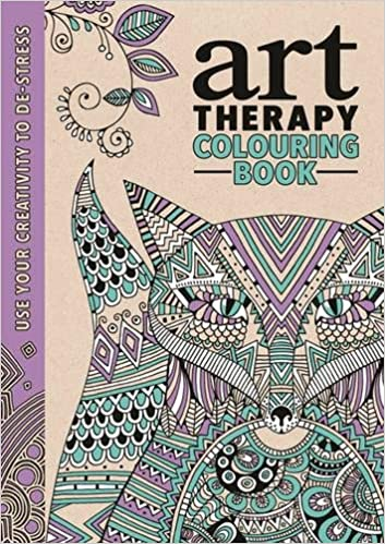 The Art Therapy Colouring Book Art Therapy Series Amazon Co Uk