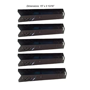 BBQ Mart Gas Grill Porcelain Steel Heat Plate Replacement for Uniflame, Lowes Model Grills