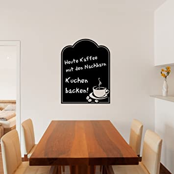 malango® Tafelfolie Kaffeetasse Küche Esszimmer Wanddekoration ...