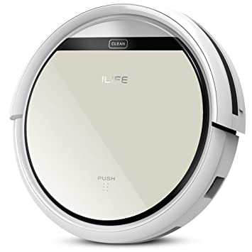 ilife Aspiradora robot LCD Touch de mando a distancia aspirador con ...