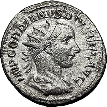 Ancient Roman Imperial Coin Rome Mint Gordianus Iii Silver Antoninianus To Be Distributed All Over The World