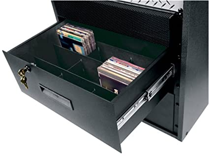 DVD/CD STORAGE Partition For 4 Space Rack Drawer Rack Drawer