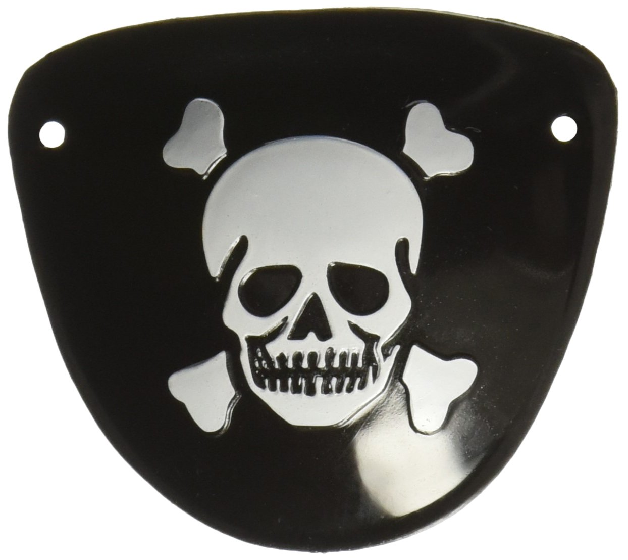 Pirate Party Skull Crossbones Eye Patch Favours, Plastic, 2' x 2', Pack of 12 2 x 2 Notions - In Network 390317