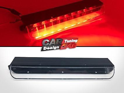 DQDZ Luz de freno de tercera luz LED transparente