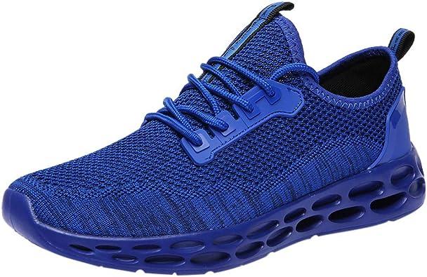 ZODOF Zapatillas de para Deporte Running Hombres Correr Zapatos ...