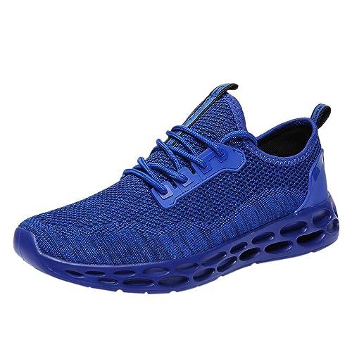 Kinlene Calzado Casual para Hombres Calzado Deportivo Transpirable Zapatillas Calzado cómodo: Amazon.es: Zapatos y complementos