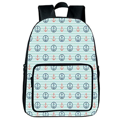Amazon com: Light Weight Loss Square Front Bag Backpack,Anchor