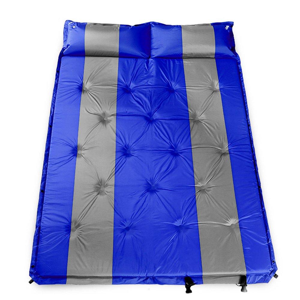QEL Automatisches aufblasbares Kissen, erweitertes Design, Kissen und Matratzen, 2-in-1 Outdoor Camping Company Schlafen, 192 x 132 x 3 cm