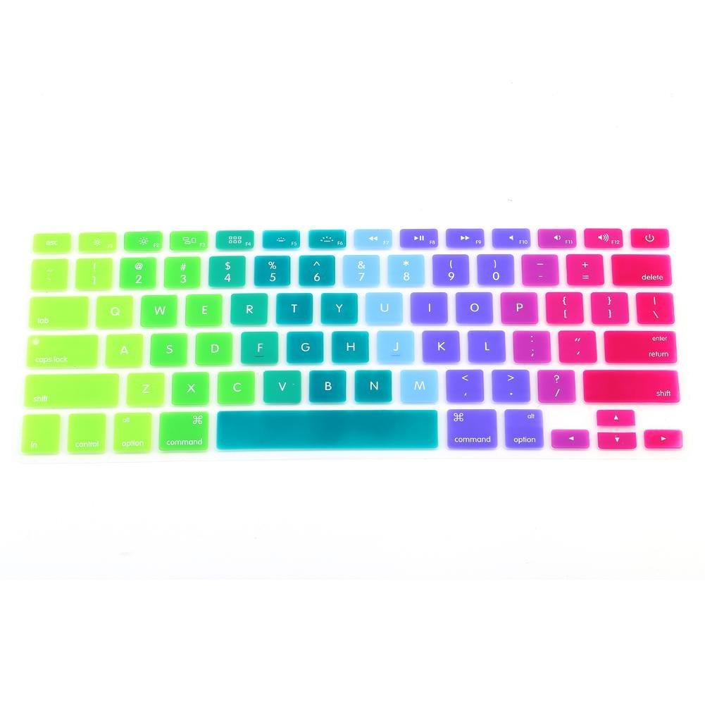 Sfumatura Zerone Cover in Silicone per Tastiera Custodia Protettiva per Tastiera Skin per MacBook PRO 13-15iMac