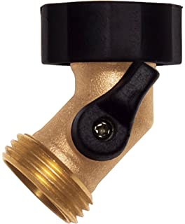 Amazoncom Backyard Garden Pros SLI5304 Brass Single Garden Hose