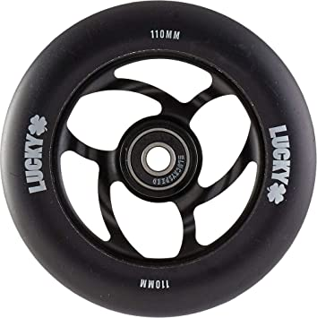 LUCKY Torsion Rueda Scooter (110mm - Negro): Amazon.es ...