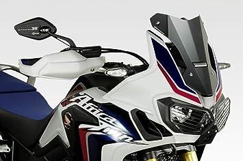 DPM Race CRF1000 Africa Twin Kit Carenabris Exential F/ácil Instalaci/ón - 100/% Made in Italy - Parabrisas Lunas C/úpula de Aluminio R-0855 Accesorios De Pretto Moto