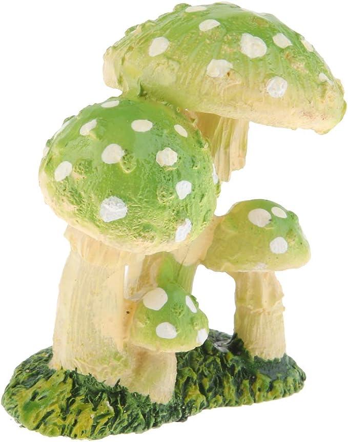 Amazon.es: Fenteer Decoración De La Mesa De Hongos En Miniatura - Setas En Miniatura De Resina De Hadas del Jardín - Cian c: Juguetes y juegos