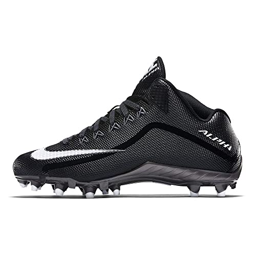 premium selection 73cdc d5dea Nike Alpha Pro 2 3 4 TD Football Cleats (11, Black White