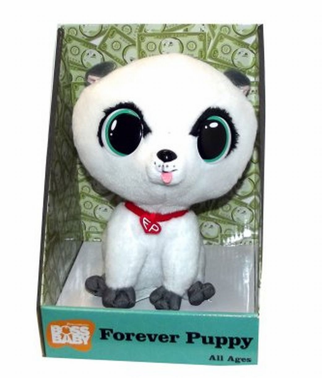Amazon.com: Dreamworks Boss Baby Forever Puppy Plush Toy, 8 X 6 X 6 inches: Toys & Games