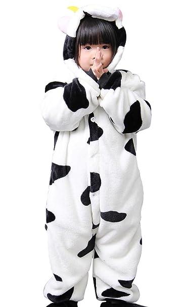 Cliont Vacas animales de los niños Onesie pijama de de Navidad del niño ropa de noche
