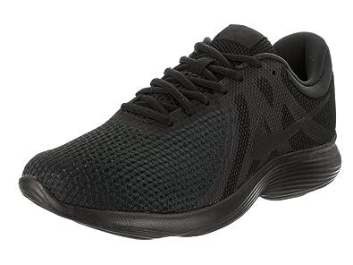 Nike Mens Revolution 4 Running Shoe Black/Black 10