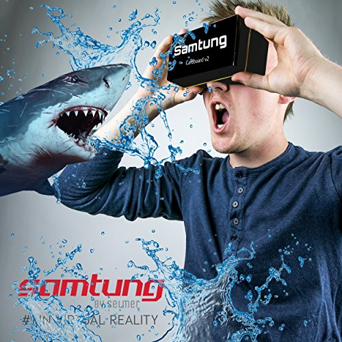Samtung® Google Black Cardboard Virtual Reality Glasses By Ultimate 3D Headset Goggles For iPhone Samsung Android & Cell Phones Up To 5.7 With Nose & Forehead Sponge Suction Cups Lens Cloth post thumbnail