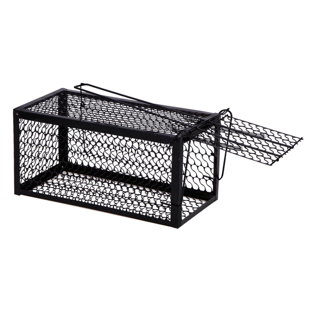Feiledi Trade Pièges Sensibles De Cage De Piège De Rat De Piège De Cage De Piège De Chat De Piège De Ménage D\'Organe en Métal, Pièges à Souris