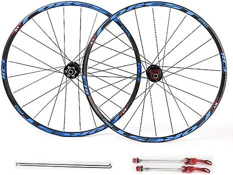 LSRRYD Pareja de Ruedas para MTB Bicicleta, 26 27.5 Pulgadas Ruedas de Ciclismo Llanta de aleación Aluminio 7 8 9 10 11 Velocidad: Amazon.es: Deportes y aire libre