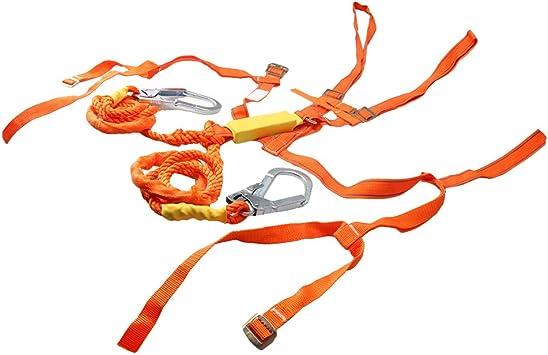 CNBTR Cuerda de nailon blanco para protección contra caídas, arnés ...